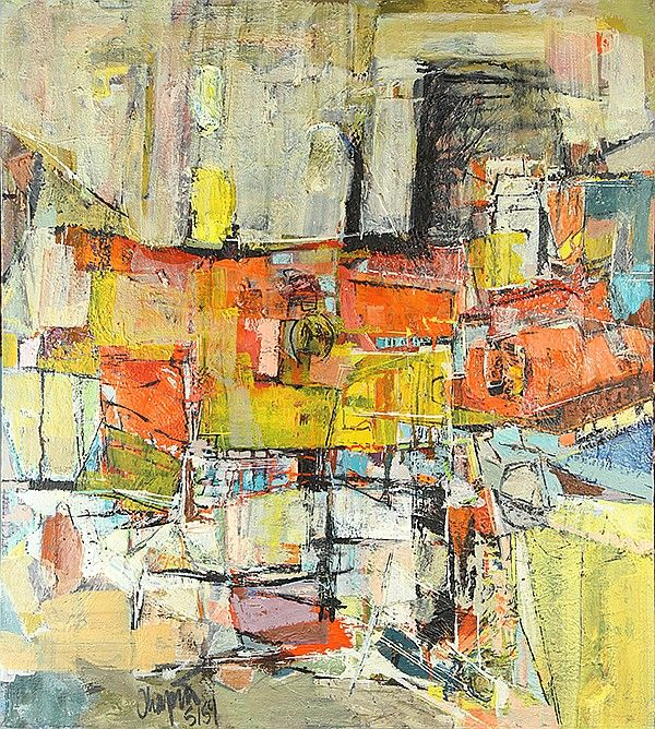 American School (20th century), Untitled (Abstract in