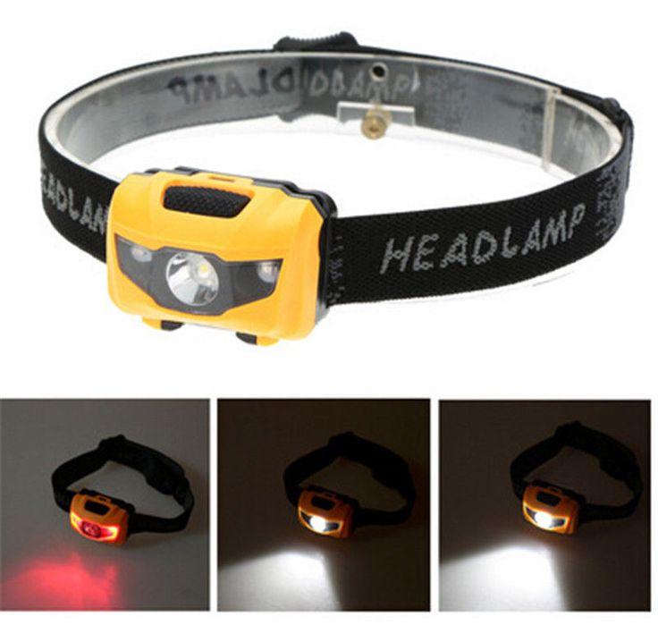 New Waterproof Fishing Hiking Sport 3W LED Super Bright Headlight Headlamp Torch