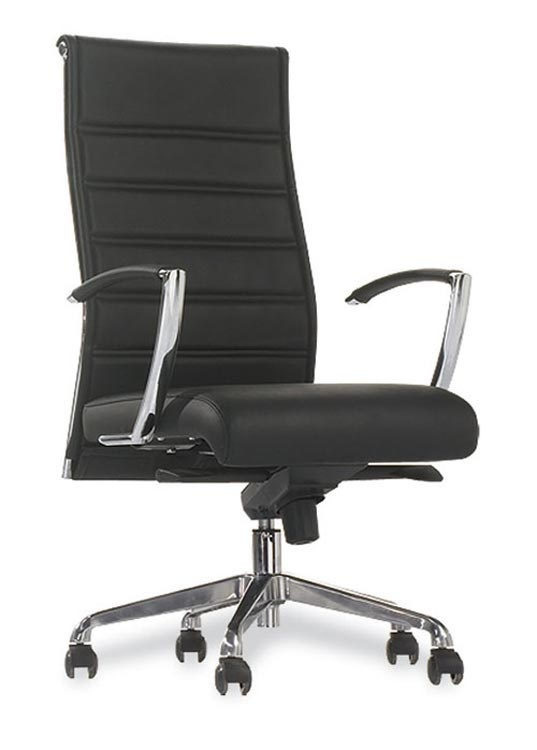 Executive High Back Chair Black By Office Source   1 800 460 0858