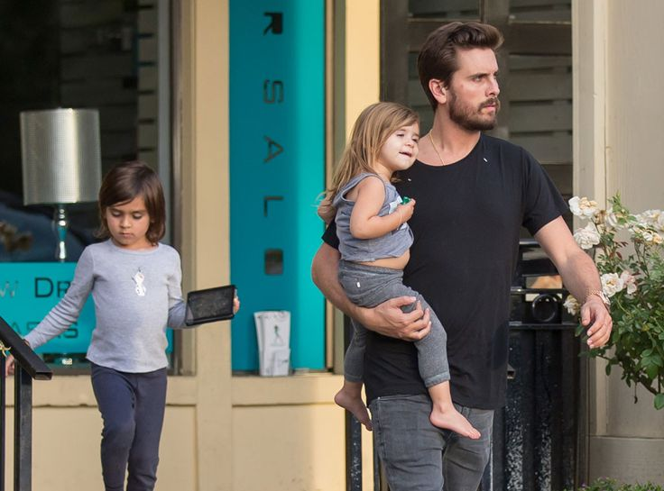 Scott Disick Leaves Rehab, Spends Time With Mason and Penelope Back Home—See the Pic  Scott Disick, Mason Disick, Penelope Disick
