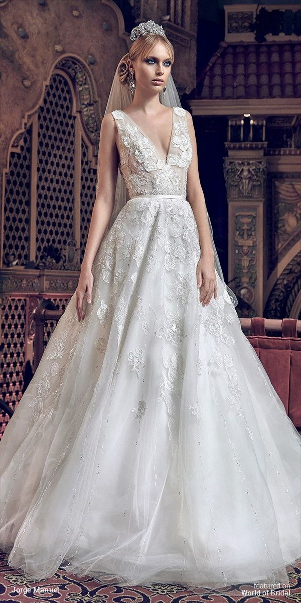 Jorge Manuel 2016 Wedding Dress