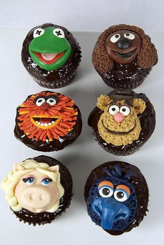 muppets cupcakes toronto by www.fortheloveofcake.ca