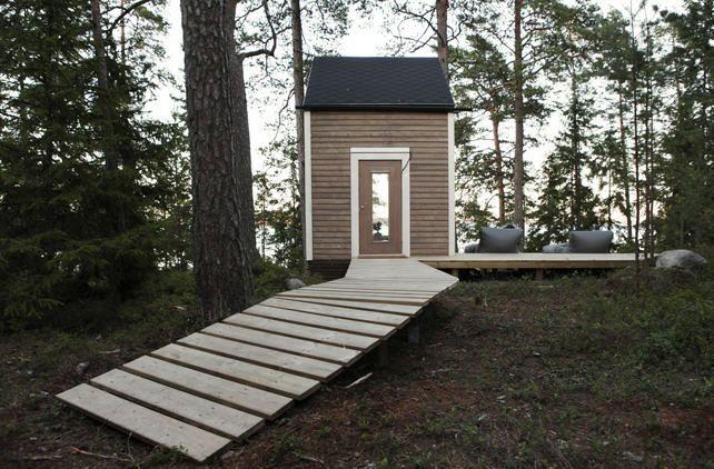 petite maison en bois...