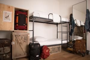 locker and bunk