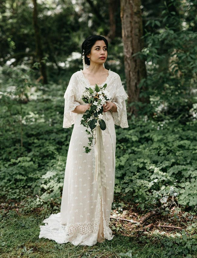 vintage inspired wedding rodellee from adored vintage orn hansen antique lace wedding gown