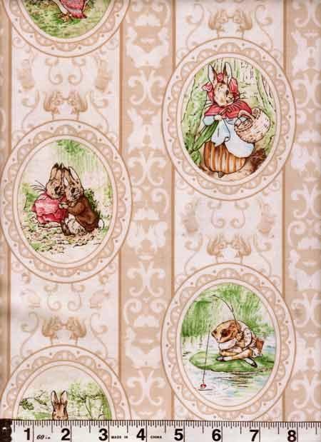 Beatrix Potter Victorian Cameo Print