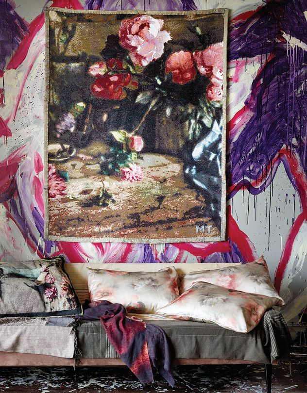 Martyn Thompson's New Textile Collection - WSJ Martyn Thompson photography