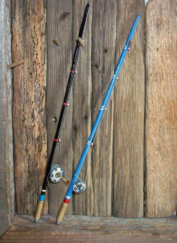 Miniature fishing rod one inch dollhouse by for Good fishing pole
