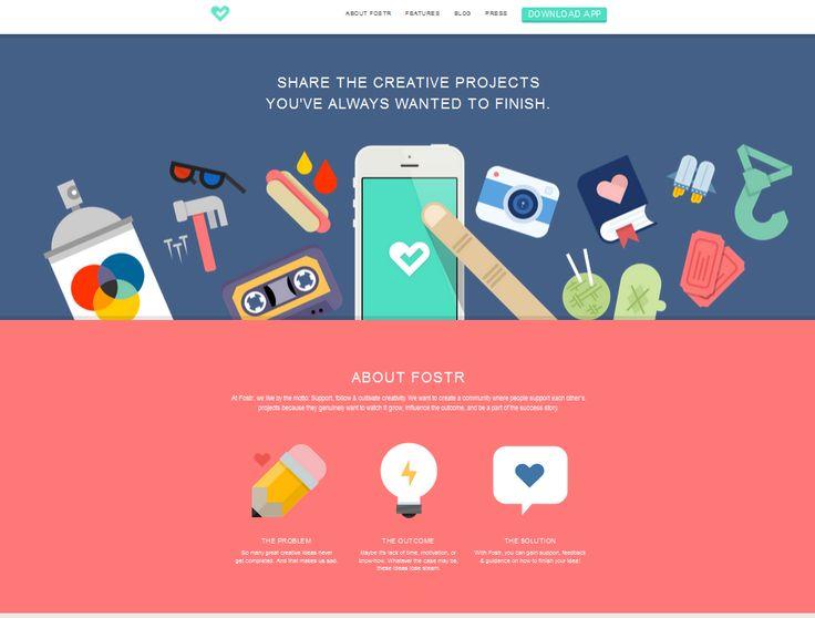30 Best Illustrative Websites Images On Pinterest