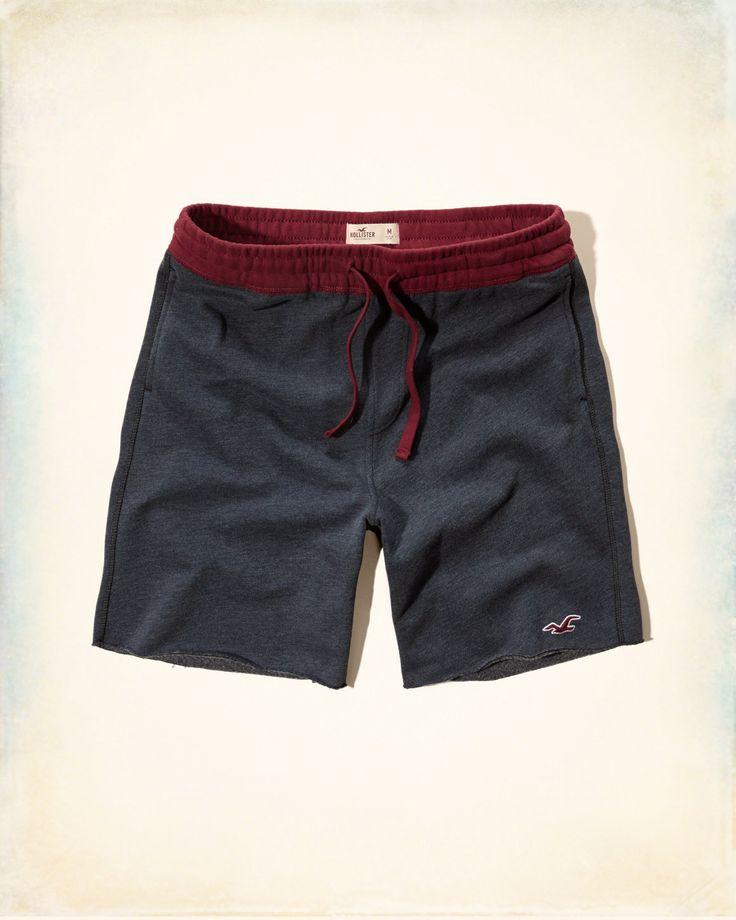 Guys Hollister Icon Fleece Jogger Shorts   Guys Online Exclusives   eu.HollisterCo.com