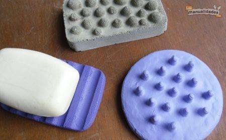 Jaboneras con cemento, paso a paso.Con Cemento, Home, That, De Cemento, Cemento Cabjpg, Hacer Jabonera, Jabonera Con, Art En, Jabonera De
