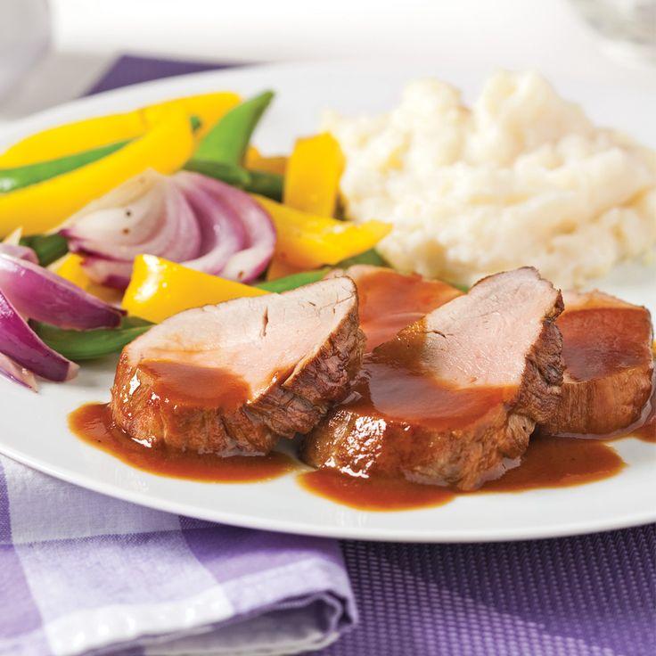 Filets de porc à la bière et mélasse - Recettes - Cuisine et nutrition - Pratico Pratique