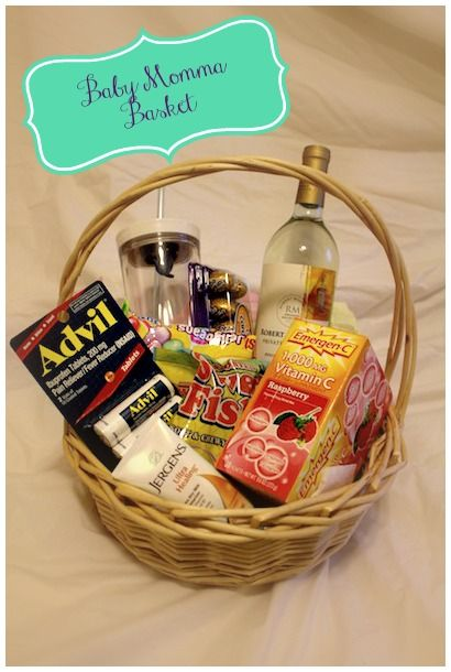 Mother And Baby Gift Hamper : Gift basket for the mom to be alternative baby shower
