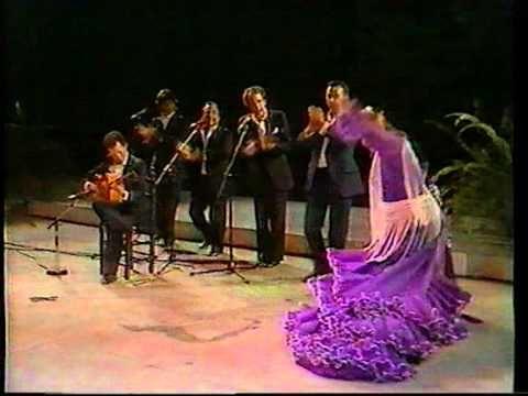 Flamenco: matilde coral baile por alegrias chano lobato romerito rafael fernandez guitarramanolo dominguez