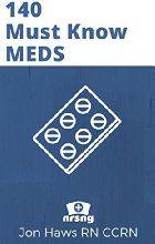 140 Must Know Meds: Demolish Pharmacology for Nursing Drug Guide (NCLEX® Drug Reference for Nurses)