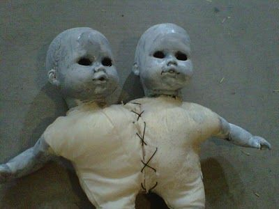 creepy thrift store babies   102 Wicked Things To Do: Body Parts