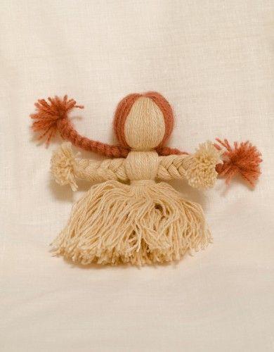 #yarn #doll #amulet http://nuwzz.com/product/yarn-doll-amulet/