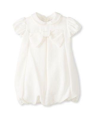 50% OFF Il Gufo Kid's Bow Dress (Milk)