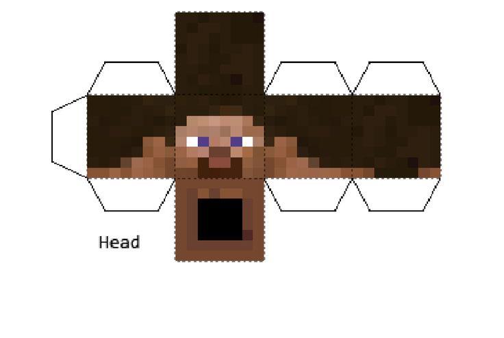 Minecraft Steves Head