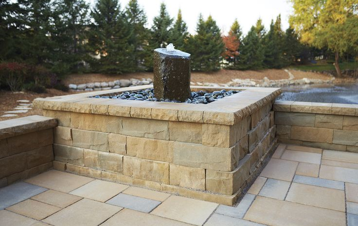 The Brisa™ multi-piece wall system delivers the elegant look of natural split limestone for both retaining and freestanding wall applications. Perfect for most residential projects, Brisa™'s varied block lengths provide the ultimate degree of versatility: Brisa™ retaining wall can be used to create curved or straight walls, fire pits, outdoor kitchens, raised patios, steps, terraced walls and more. Brisa™'s free-standing wall system is a beautiful choice for courtyards, seating walls a..