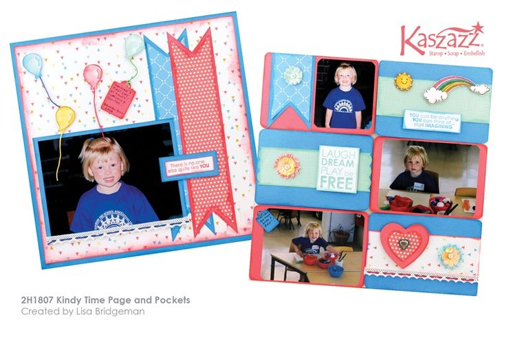 2H1807 Kindy Time Page and Pockets