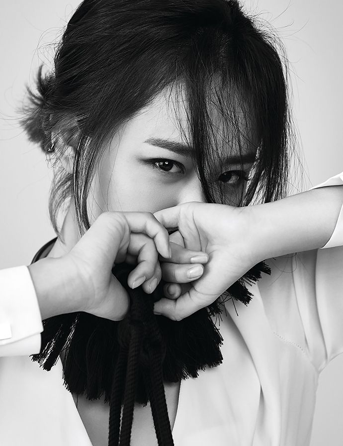 Moon Geun Young For Harper's Bazaar Korea '15