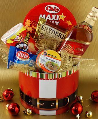 Mucha alegría se contagia con esta canasta navideña, especial para sorprender a quienes más le gusta compartir en las Fiestas.
