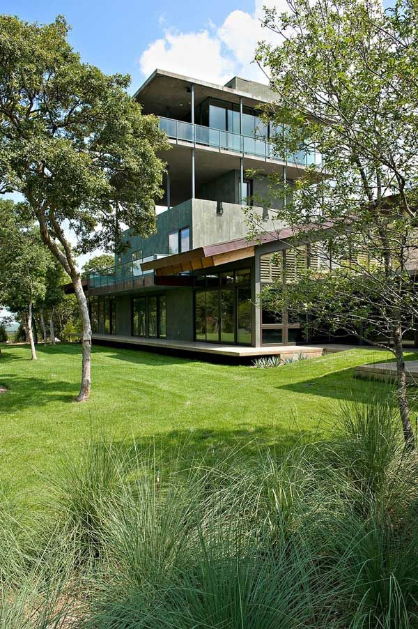 House On Cedar Hill | Cunningham Architects · Contemporary HomesModern  HomesTower ...