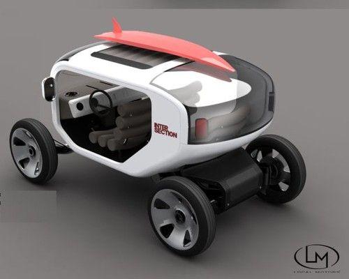 ESCALE, Eco Vehicle, Samuel Aguiar
