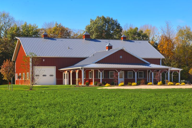 24 best pole barns images on pinterest pole barn garage for Pole construction homes