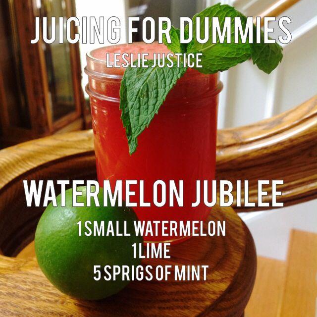 Watermelon Jubilee #juice #health