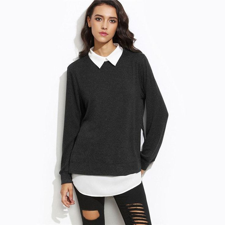 2 in 1 Casual Pullover
