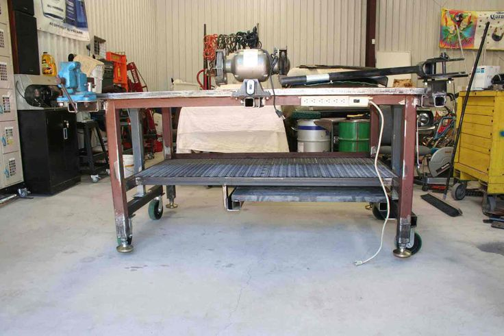 60 Best Images About Welding Shop Table On Pinterest