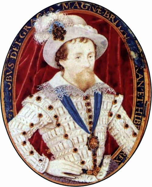 1603-1609 Nicholas Hilliard - Portrait of Jacob I
