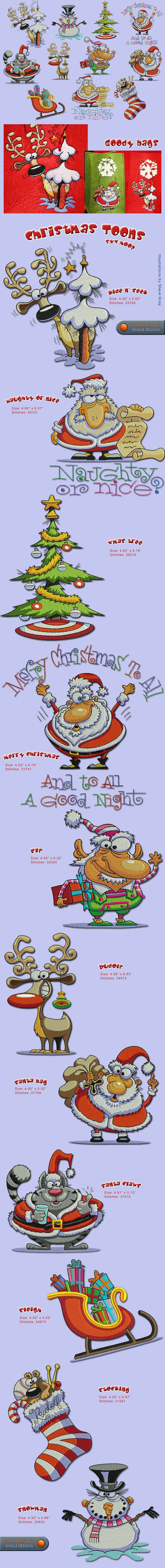 CHRISTMAS Embroidery Designs Free Embroidery Design Patterns