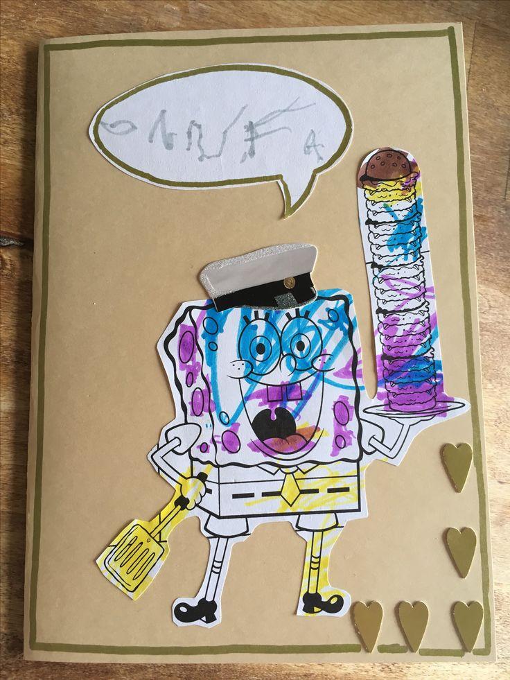 Lakkiaiset, ylioppilas, kortti, siy, väritys, paavo pesusieni, lapsen kanssa, graduation, card, spongebob, colouring page, 2017