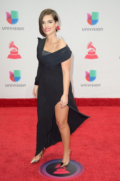 Paula Arenas attends the 18th Annual Latin Grammy Awards at MGM Grand Garden Arena on November 16, 2017 in Las Vegas, Nevada.