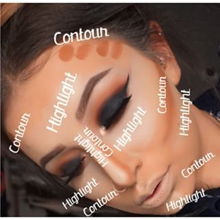It's so complicated, it needs its own v. detailed face map. | 19 Times Contouring Got Completely Out Of Control