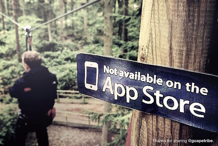 Not Available On The App Store Stickers Outdoors Nature - Not available on the app store