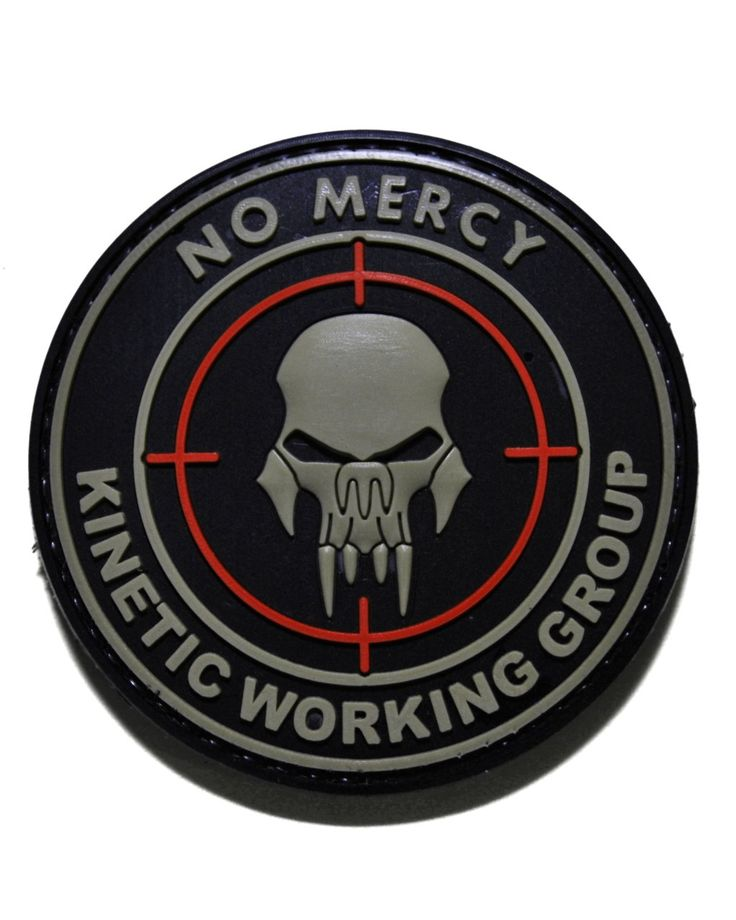 Shades of Gray Tactical Store - No Mercy PVC Velcro Morale Patch - Black, $5.99 (http://www.shadez-of-gray.com/clothing-apparel/morale-patches/tactical-morale-gear-no-mercy-pvc-velcro-morale-patch/)