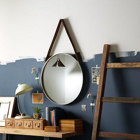 Buy John Lewis Round Hanging Mirror, Dia. 50cm Online at johnlewis.com
