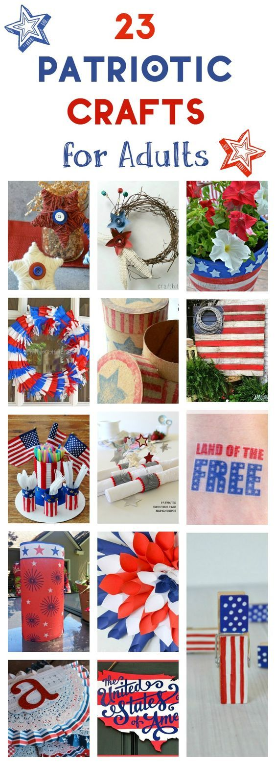 Scrapbook ideas for elderly - 23 4th Of July And Patriotic Crafts For Adults