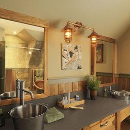 Western Bathroom Designs 152 best rustic bathrooms images on pinterest | rustic bathrooms