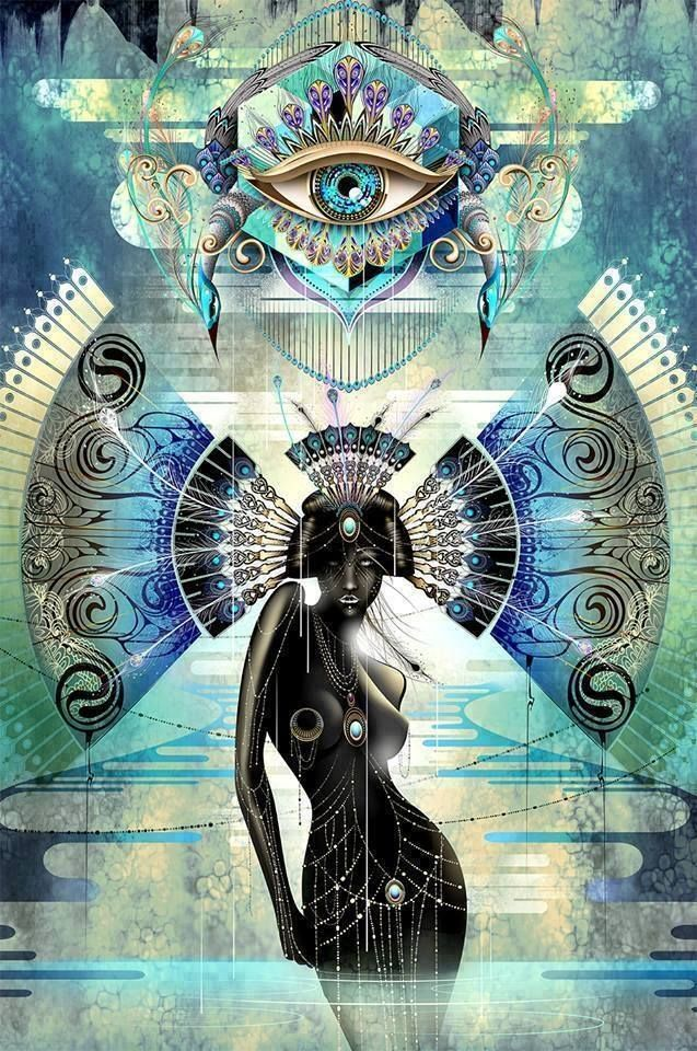Sacred Geometry Goddess <3 More
