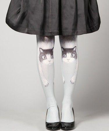 Creepy, but cute. Very Alice in Wonderland.