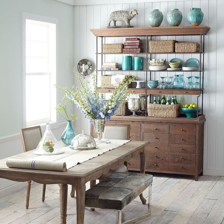 Large Reclaimed Wood Hutch