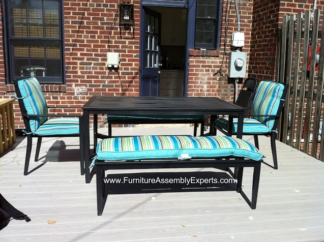Walmart Patio Dining Set Assembled In Alexandria VA By Furniture Assembly  Experts LLC   Call 2407052263