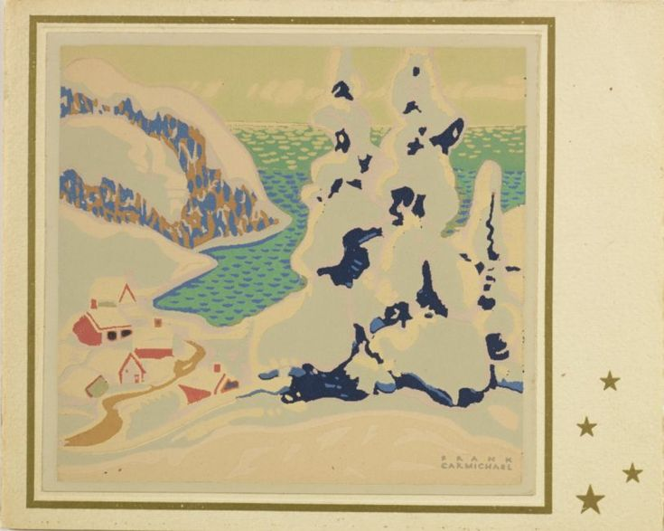 Franklin Carmichael Paintings Styles | McMichael gallery showcases Christmas cards from Group of Seven | Toronto Star