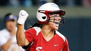 Lauren Chamberlain... One of the best batters in College softball history