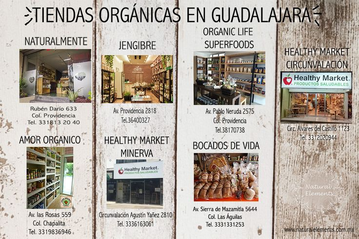 ¡Encuentra nuestros productos! visita las tiendas orgánicas de Guadalajara, te van a encantar!